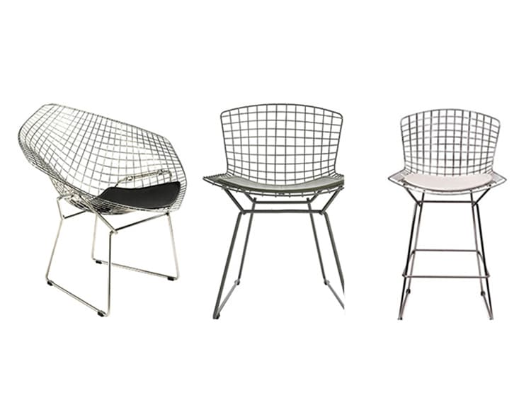 Bertoia Chair / Diseñador Harry Bertoia