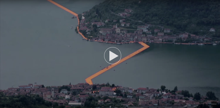 Christo: Floating Piers