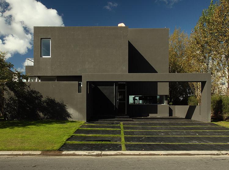 casas arquitectura negra