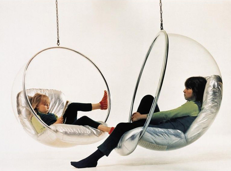 Bubble chair / Diseñador industrial Eero Aarnio