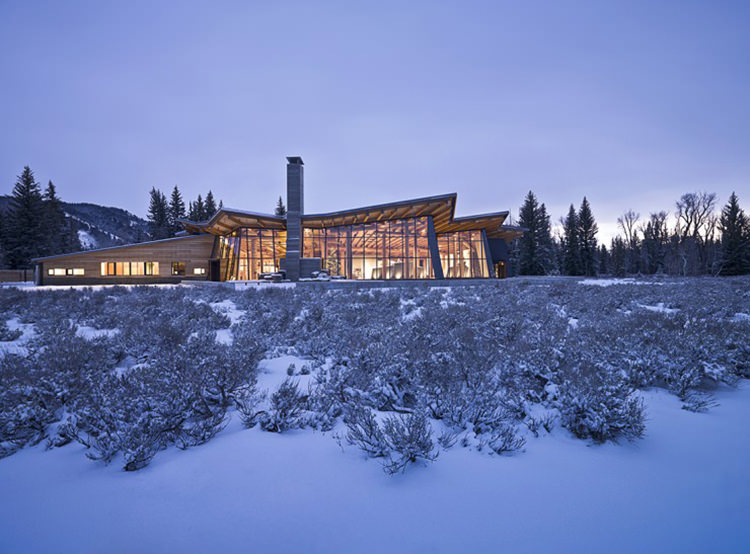 Grand Teton Discovery and Visitor Center / Bohlin Cywinski Jackson Architecture