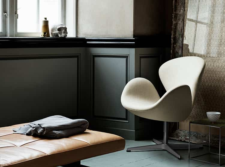 The Swan Chair / Arquitecto y Diseñador Industrial Arne Jacobsen