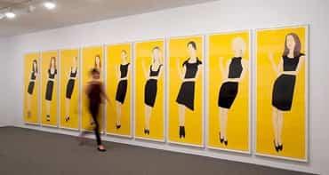 Black Dress / Alex Katz