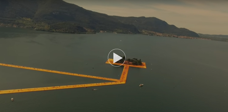 The Floating Piers / Christo & Jeanne-Claude