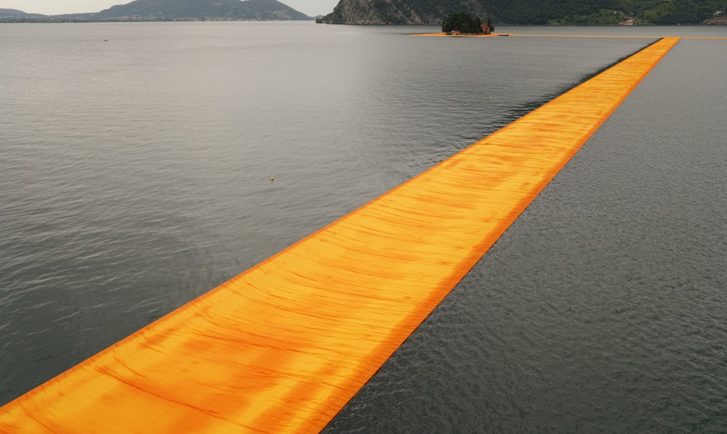 the floating piers christo6