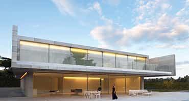 Aluminium House / Fran Silvestre Arquitectos