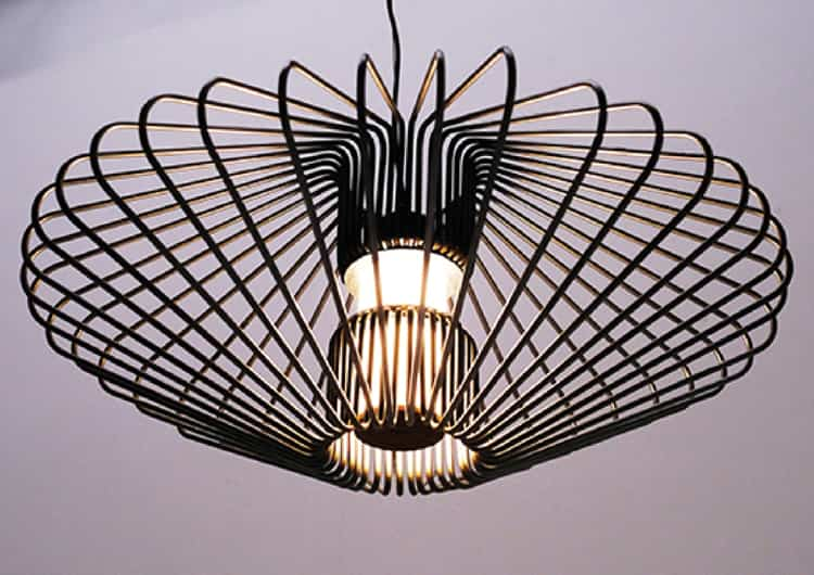 Iron Large Ceiling Lamp