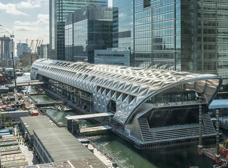 Crossrail Place, Canary Wharf / Foster + Partners
