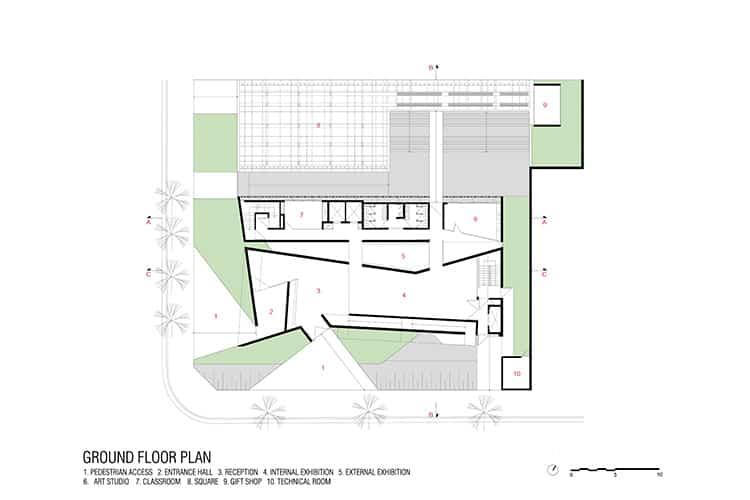 porto-seguro-cultural-center_002_ground-floor-plan