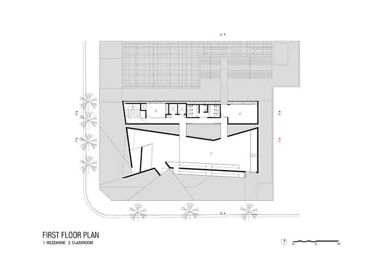 porto-seguro-cultural-center_003_first-floor-plan