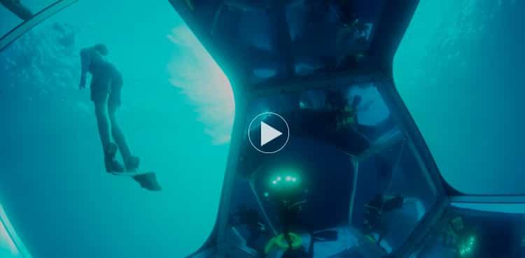 Underwater Pavilions / Doug Aitken