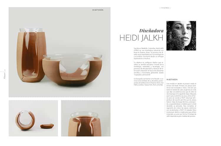 Diseñadora Heidi Jalkh