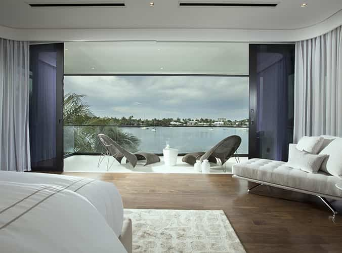 Waterfront Contemporary Home / DKOR Interiors