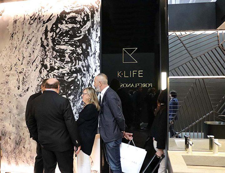 CERSAIE 2017-Presentación de KRION® K-LIFE a prensa en Bolonia / Inside