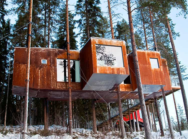 Dragonfly Treehotel / Rintala Eggertsson Architects