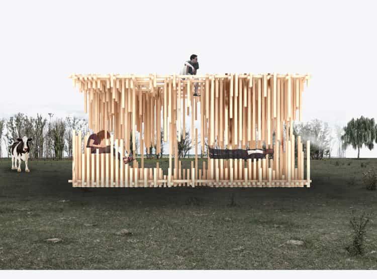 Vacío Itinerante de AToT / Hello Wood Argentina