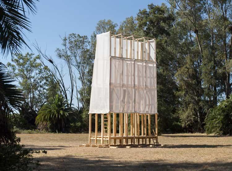 El observatorio del campo y las estrellas de Sauermartins / Hello Wood Argentina