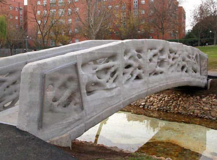 Imprimiendo puentes. Ingeniería civil y construcción con impresoras 3D