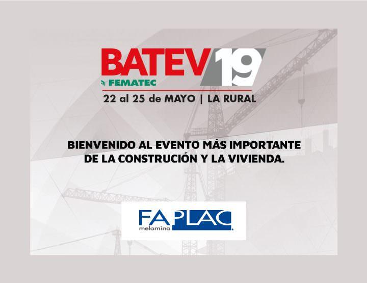 FAPLAC sponsor Diamond en la feria Batev