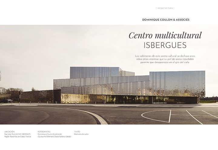 Centro multicultural Isbergues / Dominique Coulon & associés