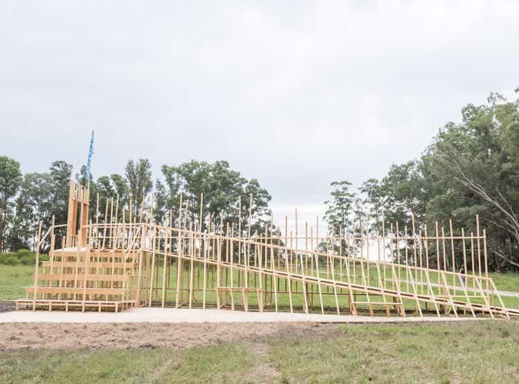 Pa'dentrero de Estudio Maleza / Hello Wood Argentina