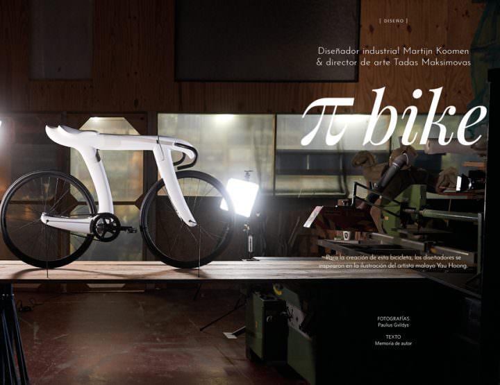 Pi Bike / D.I. Martijn Koomen & Director de arte Tadas Maksimovas