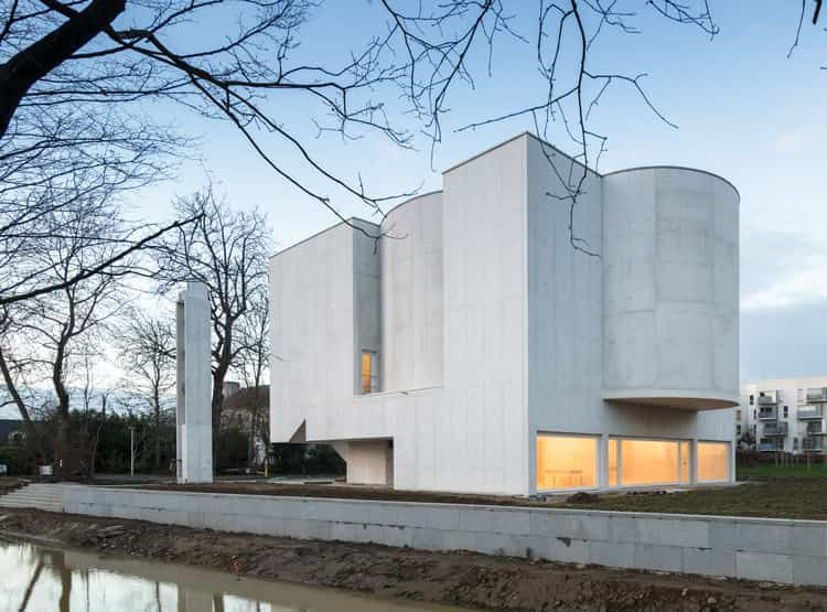 Saint Jacques de la Lande Church / Alvaro Siza Vieira