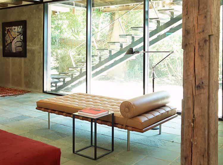 Chaise Lounge de Mies van der Rohe / Interieur Forma