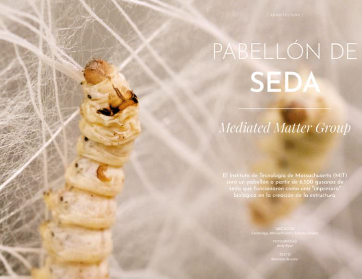 Pabellón de Seda / Mediated Matter Group
