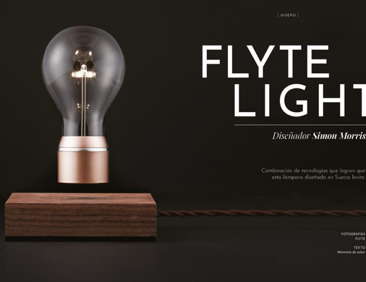Flyte light / Simon Morris