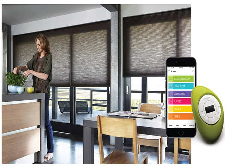 Cortinas inteligentes Hunter Douglas PowerView