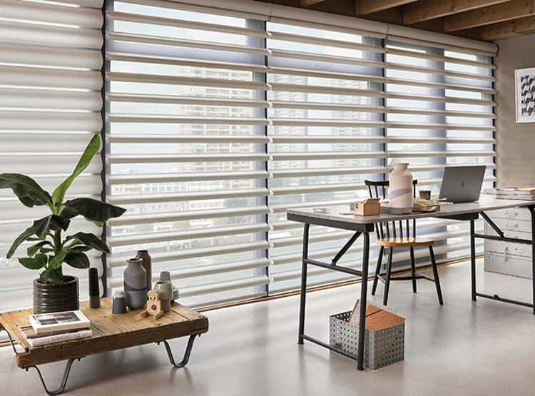 Cortinas Pirouette® / Hunter Douglas