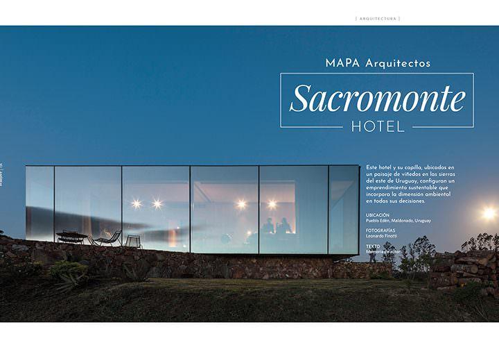 Sacromonte hotel / MAPA Arquitectos