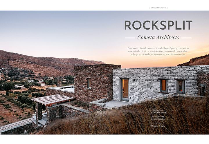Rocksplit / Cometa Architects