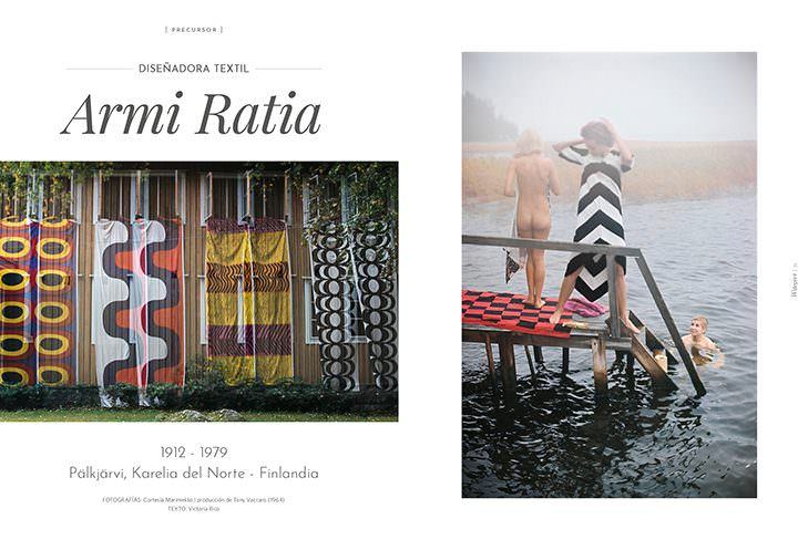 Marimekko / Diseñadora textil Armi Ratia