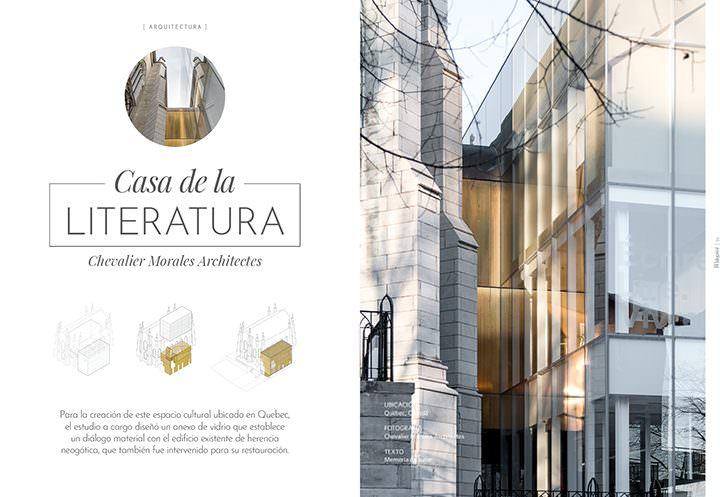 Casa de la Literatura / Chevalier Morales architectes