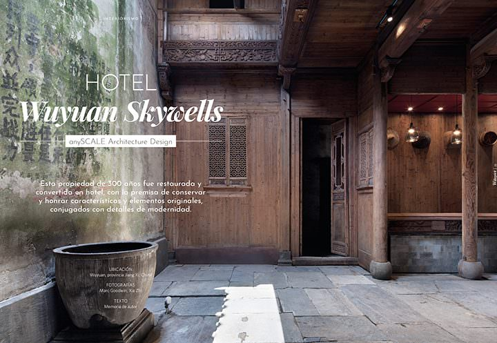 Hotel Wuyuan Skywell / anySCALE Architecture Design