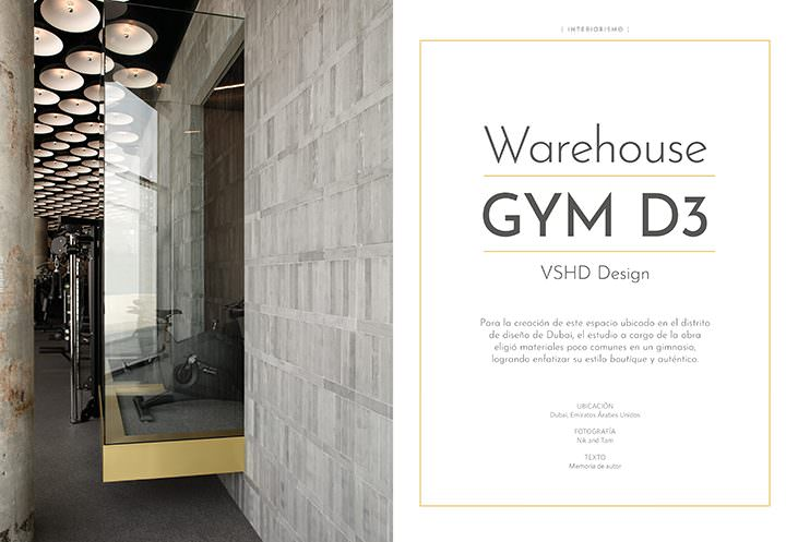 Warehouse GYM D3 / VSHD Design
