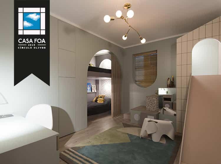 Espacio 45: Cuarto de chicos / COTY LARGUIA STUDIO +THE WALL - ARQUITECTURA Y CONSTRUCCIÓN