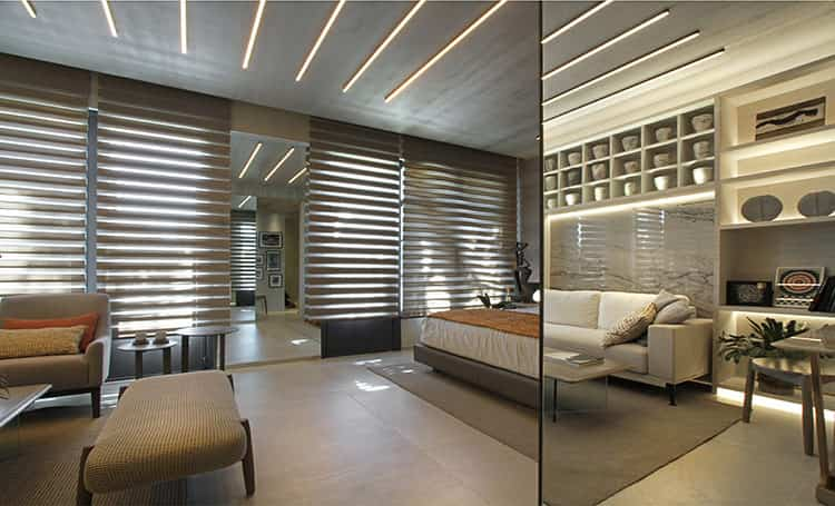 Monoambiente para pareja joven /  Arquitecta Viviana Melamed