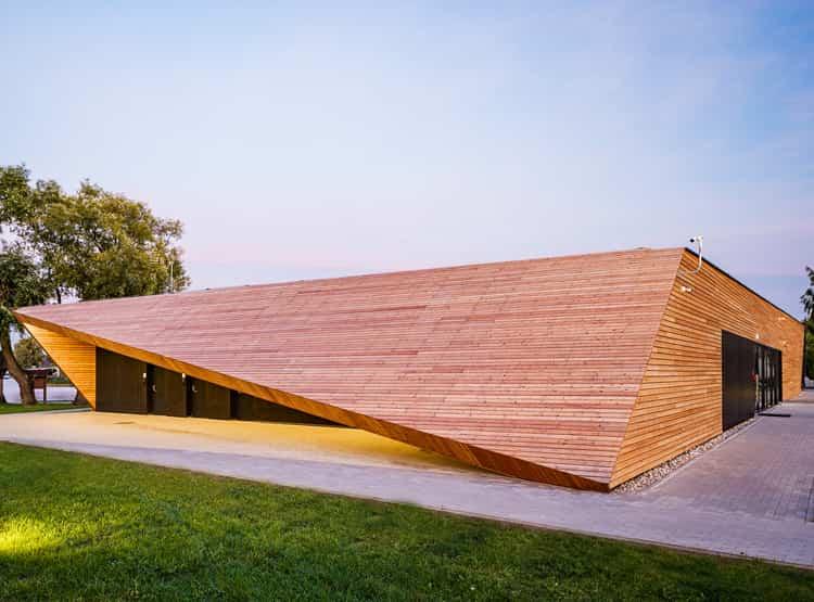 Base de entrenamiento de canotaje / PSBA - Przemysław Sokołowski Buiro Architektonicze