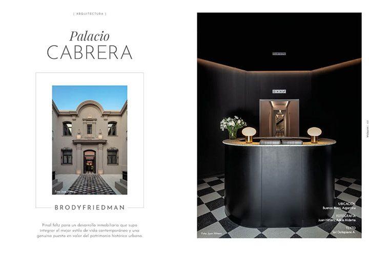 Palacio Cabrera / Brody Friedman